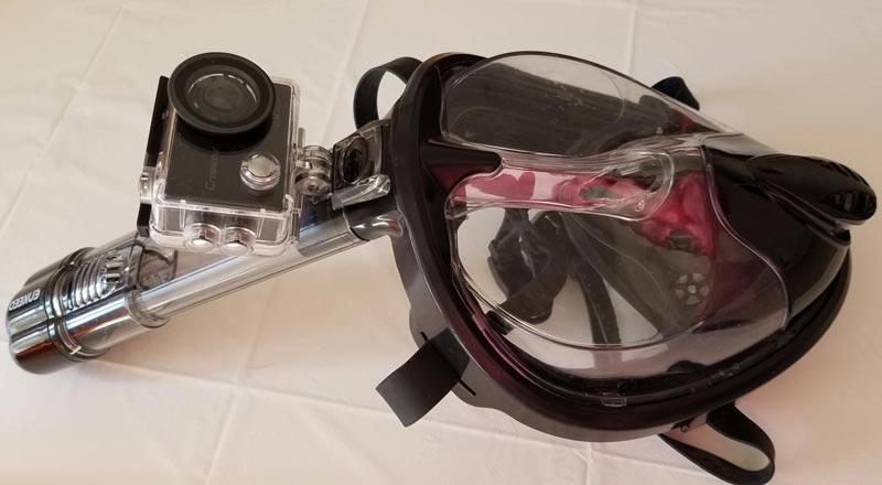 アクションカメラ 4K高画質2000万画素 水中カメラ