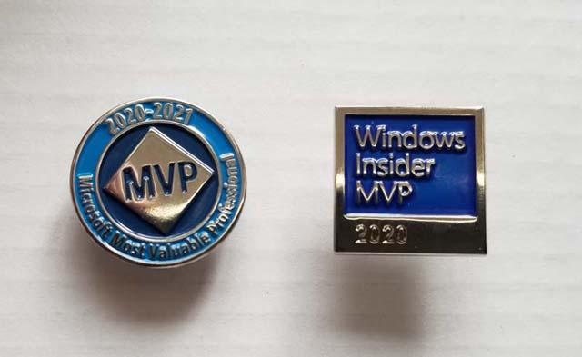 2020 Microsoft MVP vs Windows Insider MVP