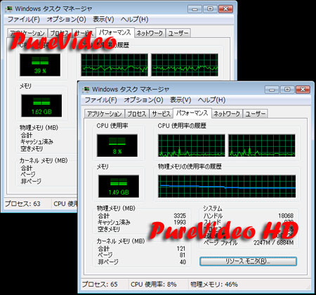 PureVideoとPureVideo HDの違い
